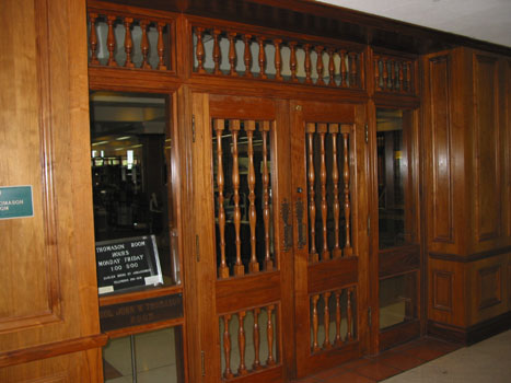 Doors to the Thomason Room