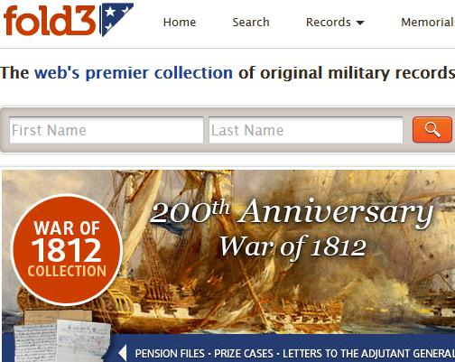 The fold3 website which provides some free and some paid archives